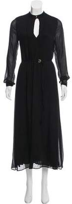 Calvin Klein Collection Long Sleeve Evening Dress w/ Tags