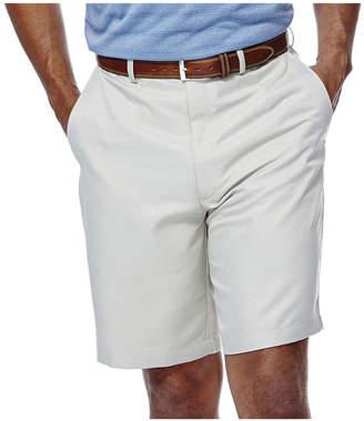Haggar Cool 18 No-Iron Flat-Front Shorts-Big & Tall