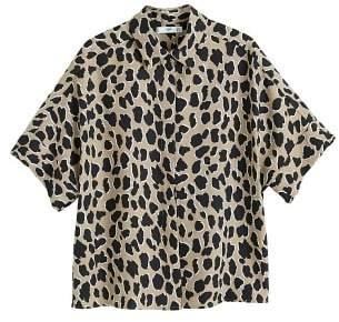 MANGO Leopard print shirt