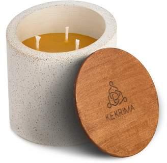 KEKRIMA - Concrete Mozaik Candle Pure Beeswax XL