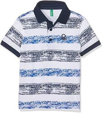 Benetton Boy's H/S Polo Shirt,(Manufacturer Size:1 Year)