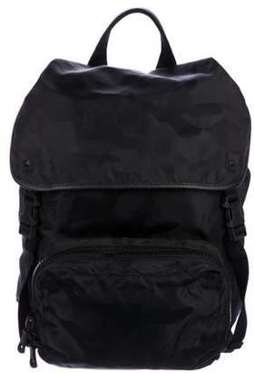 Valentino Camouflage Rockstud Backpack
