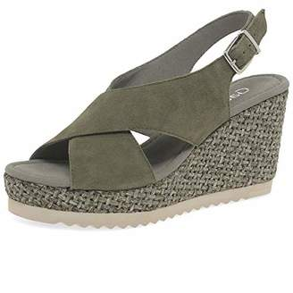 900cfd8fcb Gabor Women's Basic 25.791.11 Ankle Strap Sandals