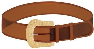 Zimmermann Wicker Buckle Wide Belt