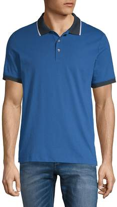 Perry Ellis Men's Contrast Polo Shirt