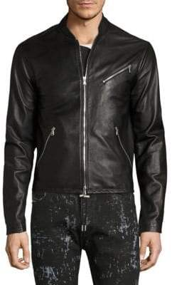 Diesel Black Gold Lionel Leather Jacket