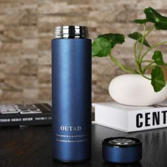 Feelwarmwind Leak-proof Portable Stainless Steel Vacuum-Insulated Cup Mug Containers Outdoor Travel Durable Environmentally Friendly