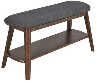 Melfi Walnut Bench