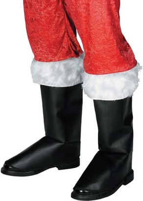 Rubie's Costume Co Rubie's Costumes Deluxe Santa Boot Tops Adult Christmas Accessory
