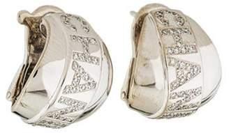 Chanel Bolduc Diamond Earclips white Bolduc Diamond Earclips