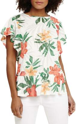 Phase Eight Franciso Floral Burnout Top