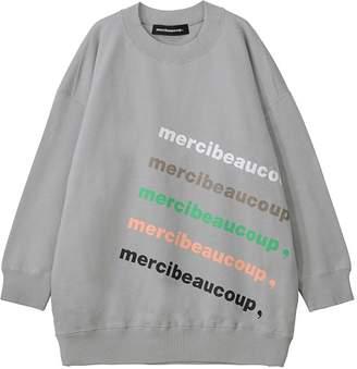 Mercibeaucoup (メルシーボークー) - メルシーボークー、 / 【WEB限定】 B:メルロゴ裏毛 / トレーナー