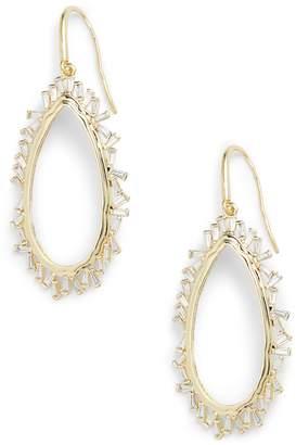 Melinda Maria Emily Open Drop Earrings