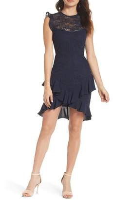 Cooper St Amore Lace Minidress