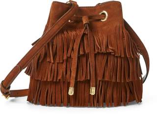 e9cedeb58e Ralph Lauren Suede Debby Drawstring Bag