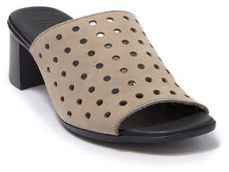 Munro American Jules Perforated Heeled Mule - Multiple Widths Available