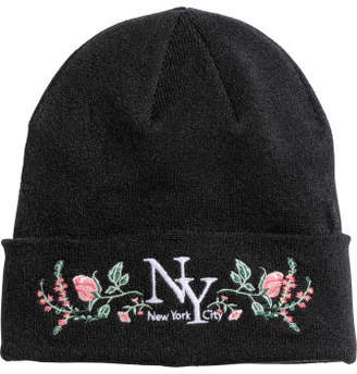 H&M Knitted hat - Black