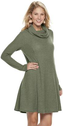 Sonoma Goods For Life Women's SONOMA Goods for Life Waffle Cowlneck Dress