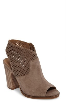 Women's Lucky Brand Lizara Perforated Block Heel Sandal $118.95 thestylecure.com