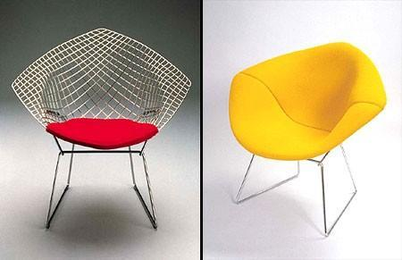 Knoll - diamond chair by harry bertoia for knoll