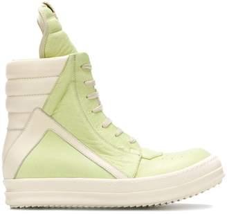 Rick Owens hi-top Geobasket sneakers