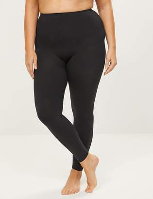 Lane Bryant Super Opaque Ankle Tights with Cooling Yarns