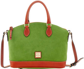 Dooney & Bourke Suede Darcy Satchel