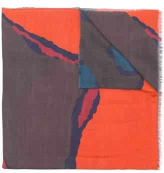 Paul Smith printed scarf