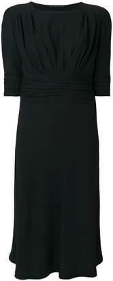 Ermanno Scervino slim-fit ruched dress