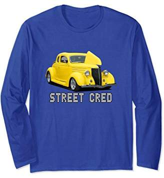Street Cred Hot Rod Custom Car Art T-Shirt