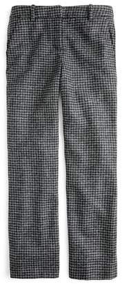 J.Crew Peyton Houndstooth High Rise Wide Leg Pants