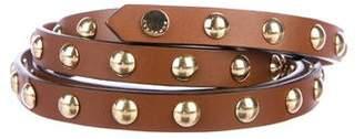 Burberry Studded Wrap-Around Belt