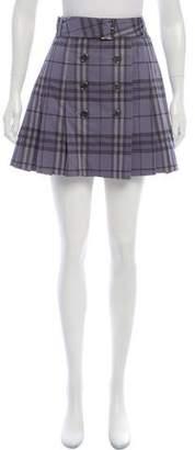Burberry Nova Check Mini Skirt