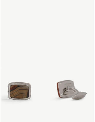Tateossian Montana Agate cufflinks