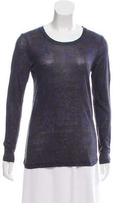 Isabel Marant Linen Long Sleeve Top