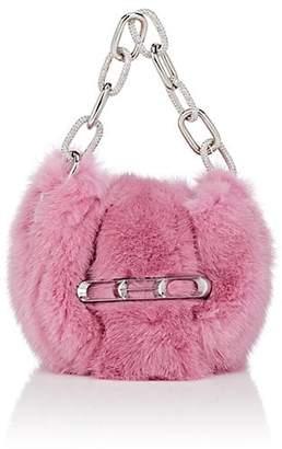 Alexander Wang Women's Micro Mini Mink Fur Clutch