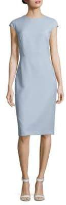 Lafayette 148 New York Cap-Sleeve Sheath Dress