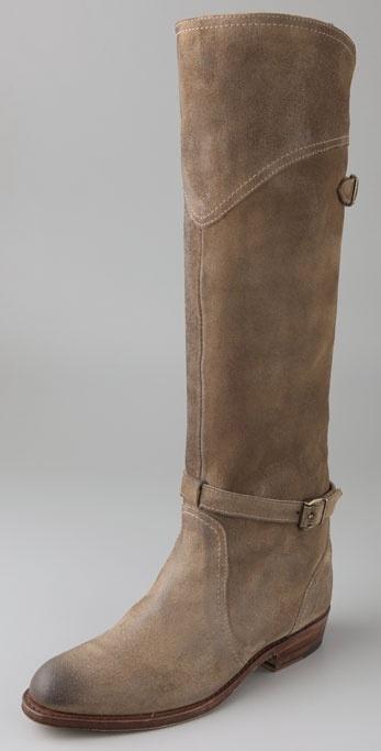 Frye Dorado Suede Riding Boots