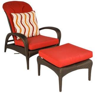 Janus et Cie Dedon Tango Beach Chair & Ottoman