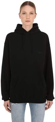 Vetements OVERSIZE COTTON SWEATSHIRT HOODIE