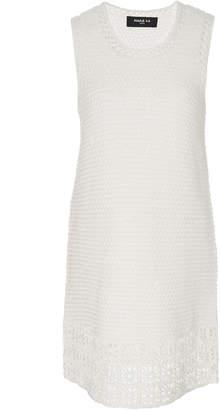 Paule Ka Crochet Cotton Shift Dress