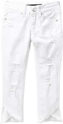 Joe's Jeans Mid Rise Distressed Jeans (Little Girls)