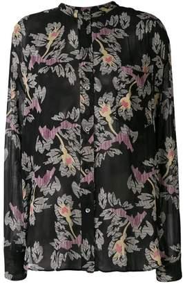 9cac75d4eb ... Etoile Isabel Marant sheer floral print shirt