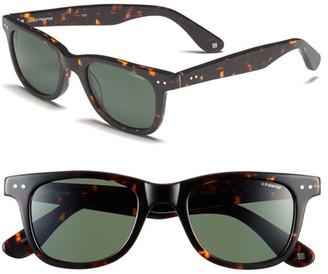 POLAROID EYEWEAR Unisex Retro Polarized Sunglasses $98 thestylecure.com
