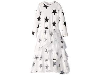 Nununu Layered Maxi Tulle Dress (Little Kids/Big Kids)