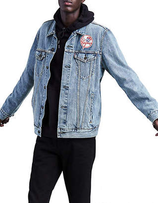 Levi's MLB NY Yankees Denim Trucker Jacket