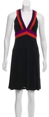 Gucci Knee-Length Striped Dress
