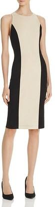 Alice + Olivia Dex Suede Color-Block Dress $1,195 thestylecure.com