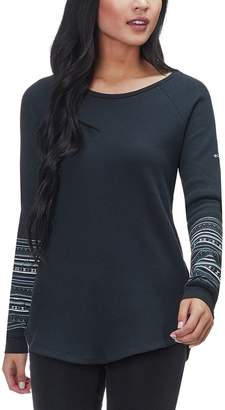 Columbia Along The Gorge Printed Long-Sleeve Crew Top - Women's
