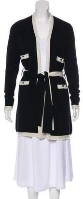 Chanel Belted Cashmere Cardigan